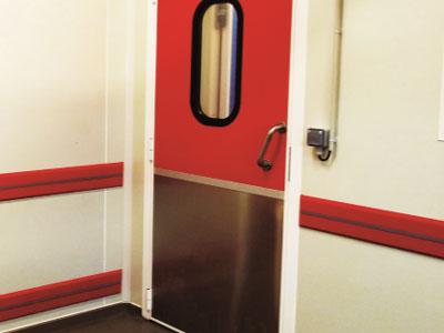 Porte semi-isolante SA