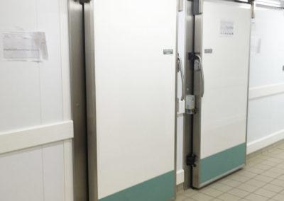 Porte coulissante positive ou négative avec guidage panneaux 7540 ACOTECH