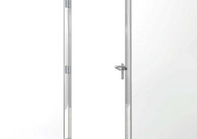 Porte pivotante étanche 1 ou 2 vantaux