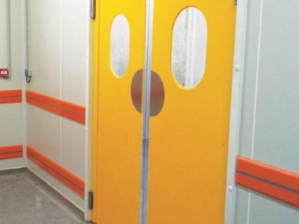 Porte va-et-vient en ACOCHOC 1 ou 2 vantaux